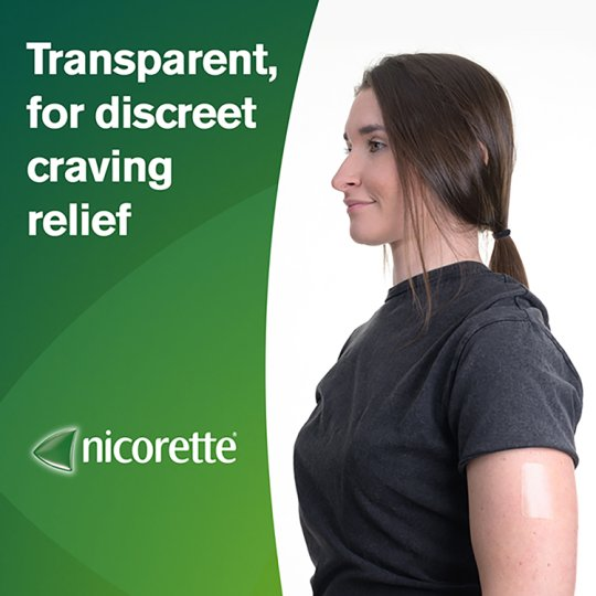 Nicorette Invisible Patch Step 2 15Mg 7S