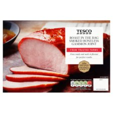 Tesco Gammon Easy Roast Bag 840G - Smoked
