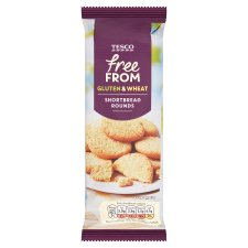 Tesco Free From Shortbread 200G