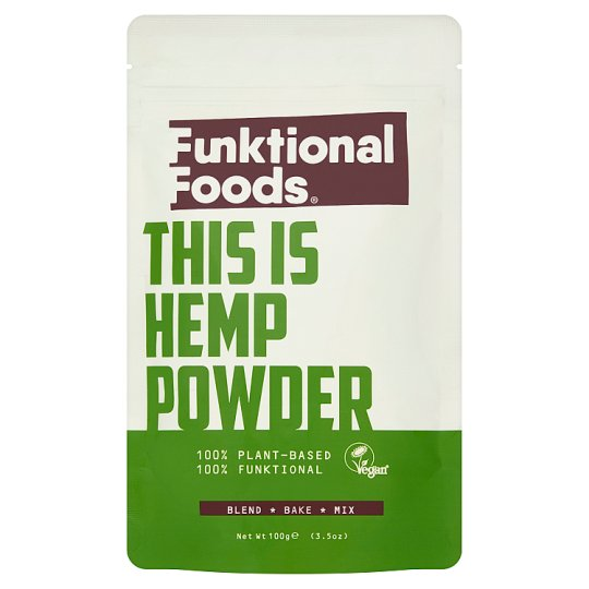 Funktional Foods Hemp Protein Powder 100G