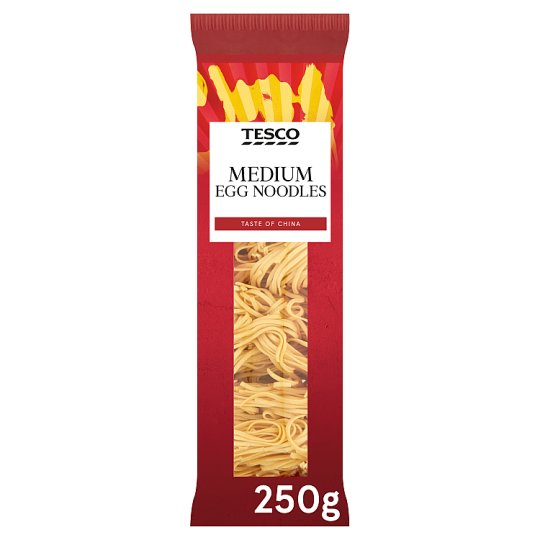 Tesco Medium Egg Noodles 250G