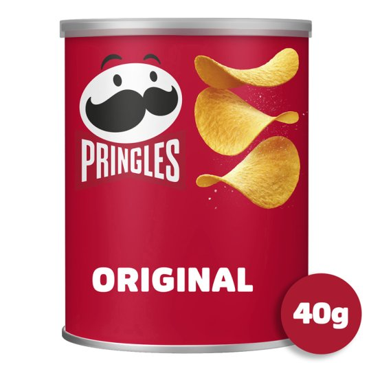 Pringles Pop And Go Original Snacks 40 G