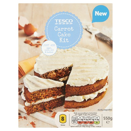 Tesco Groceries Cake Decorations : Tesco Carrot Cake Kit 550G - Groceries - Tesco Groceries