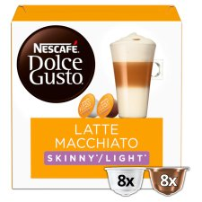 Nescafe Dolce Gusto Latte Macchiato Light Coffee Pods 153.6G