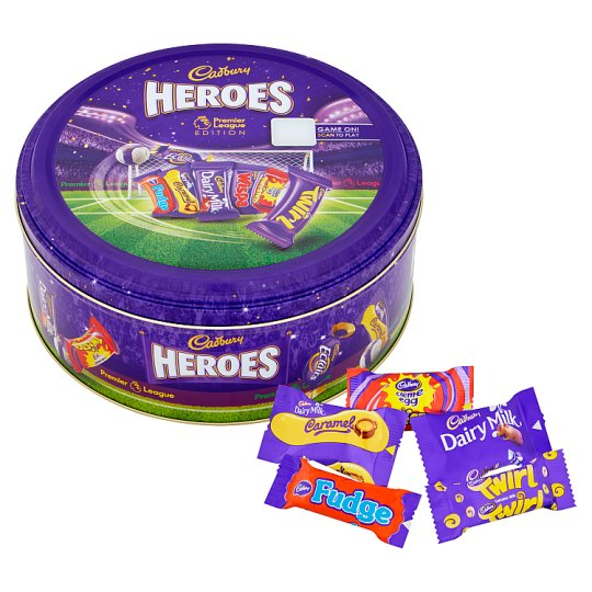 Cadbury Heroes Tin Premier League 818G
