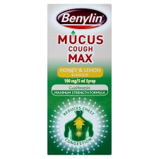 Benylin Mucus Max Honey And Lemon 300Ml