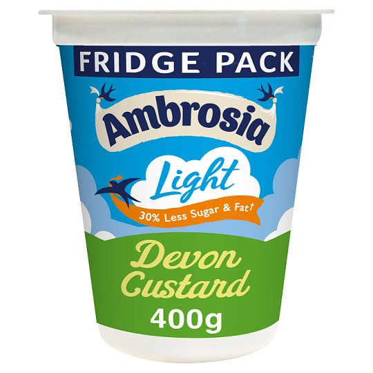 Ambrosia Light Devon Custard Pot 400G
