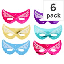 Tesco Masquerade Masks 6 Pack