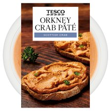 Tesco Orkney Crab Pate 100G