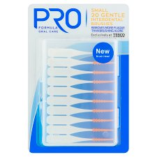 Pro Formula 20 Interdental Orange Brushes Small