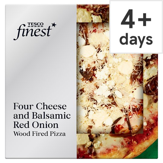 Tesco Finest Four Cheese Pizza 455G