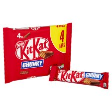image 2 of Kit Kat Chunky Milk Chocolate Multipack 4 X40g