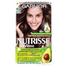 Garnier Nutrisse 4.12 Medium D/Brwn Permanent Hair Dye