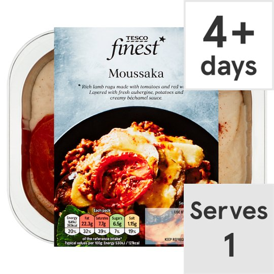 Tesco Finest Moussaka 350G