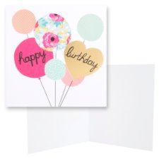 Hotchpotch Birthday Card Happy Birthday Blank