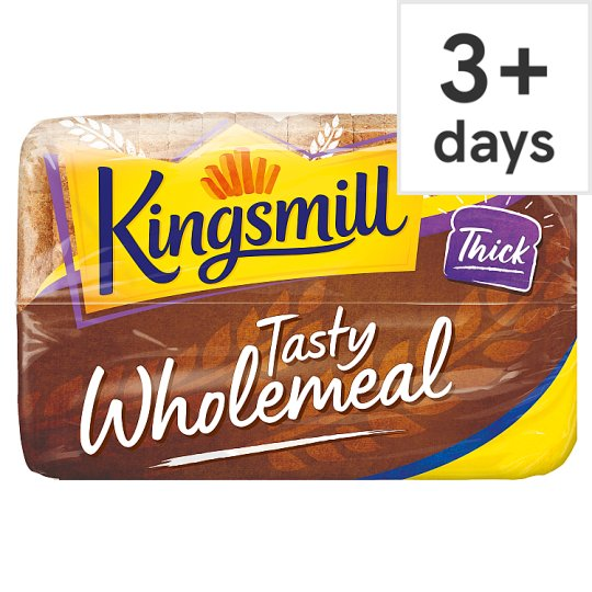 Kingsmill Great Everyday Tasty Wholemeal Thick Bread 800G
