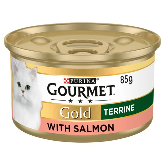 image 1 of Gourmet Gold Terrine With Salmon 85G