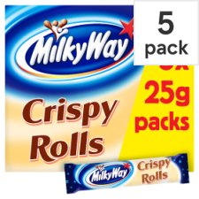 Milky Way Crispy Roll 5 Pack 125G