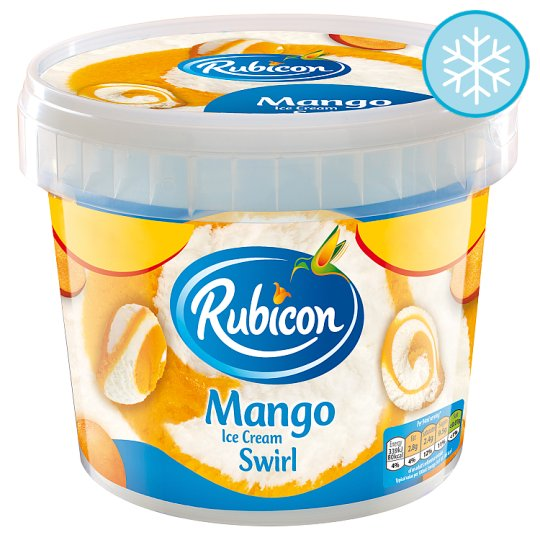 Rubicon Mango Ice Cream Swirl 750Ml Price Marked