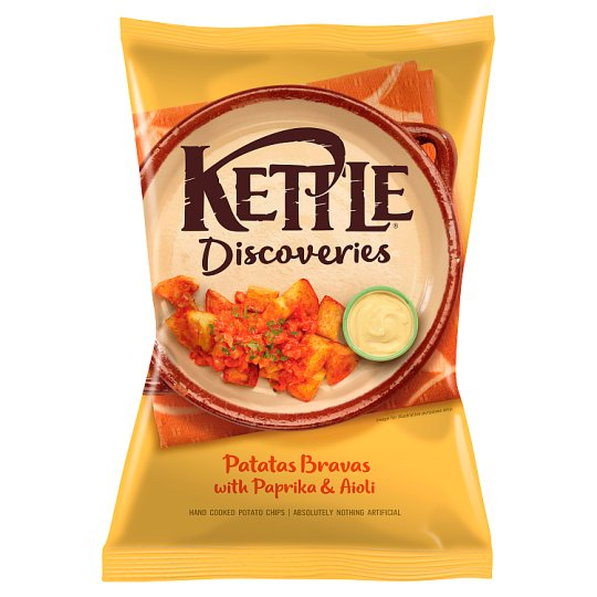 Kettle Discoveries Patatas Bravas Crisps 130G