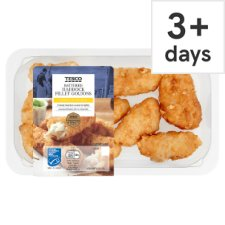 Tesco Battered Haddock Goujons 200G