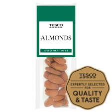 Tesco Almonds 25G