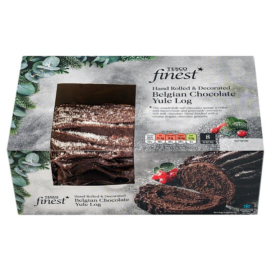 Tesco Finest Chocolate Yule Log