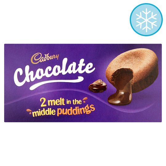 Cadbury Chocolate Melt In The Middle Pudding 2 X 100G