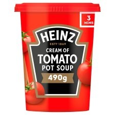 Heinz Cream Of Tomato Pot Soup 490G