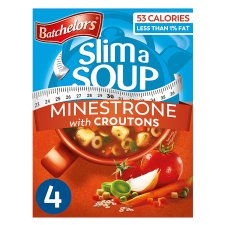 Batchelors Cup A Soup Minestrone With Croutons 4 Pack 61G