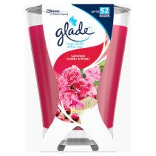 Glade Large Candle Peony And Cherry 224G