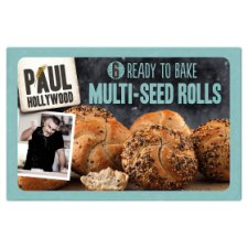 Paul Hollywood Ready To Bake Multi Grain Rolls 6 Pack