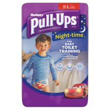 Huggies Pull Ups Night Time Boy Large 12