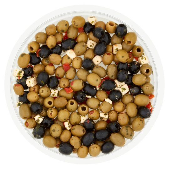 image 1 of Tesco Easy Entertaining Pitted Olive Selection 565G Srvs10