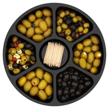 image 2 of Tesco Easy Entertaining Pitted Olive Selection 565G Srvs10