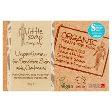 Little Soap Co Sensitive Skin Bar Soap 110G
