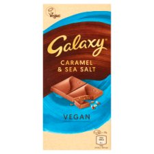 Galaxy Vegan Caramel & Sea Salt Bar 100G
