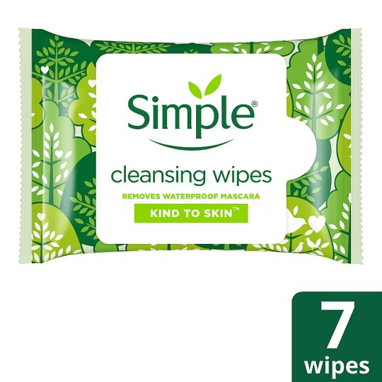 Simple Kind To Skin Cleansing Face Wipes 7 Pack