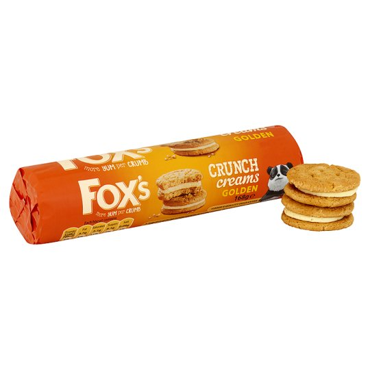 Fox's Golden Crunch Cream Biscuits 168G