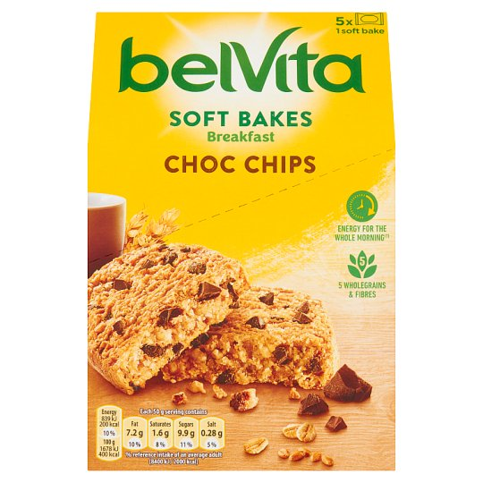 image 1 of Belvita Soft Bakes Chocolate Chip 250G
