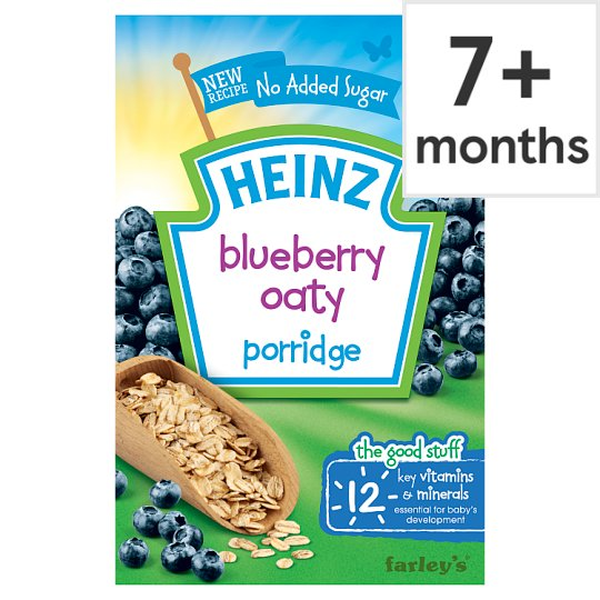 Heinz Blueberry Oaty Porridge 120G