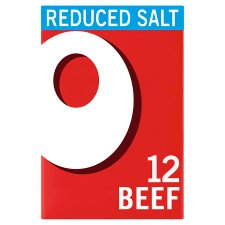 Oxo Reduced Salt Cubes Beef 12 Pack 71G
