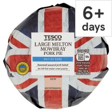 Tesco Large Melton Mowbray Pork Pie 440G