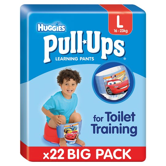 Huggies Pull-Ups Boy Large Economy X22