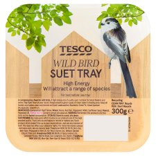 Tesco Wild Bird Food Suet Block 300G