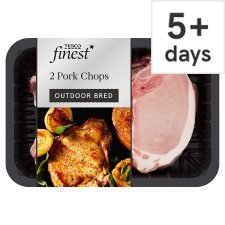 Tesco Finest Pork Chops 500G