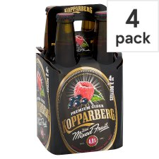 Kopparberg Mixed Fruit Cider 4X330ml Bottle