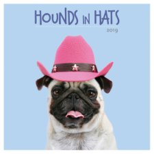 Hounds In Hats 2019 Square Calendar
