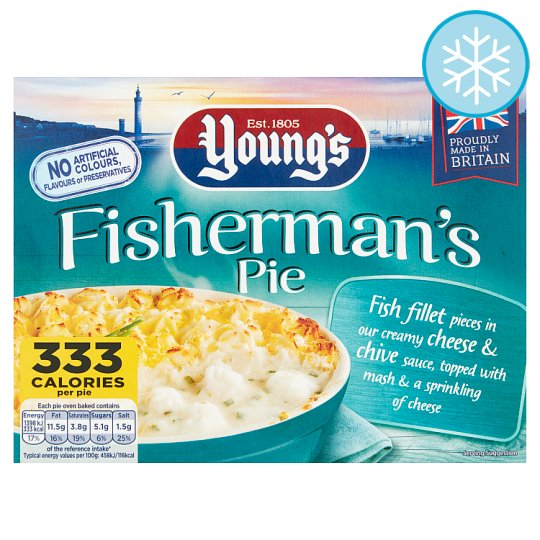 Youngs Fisherman's Pie 320G