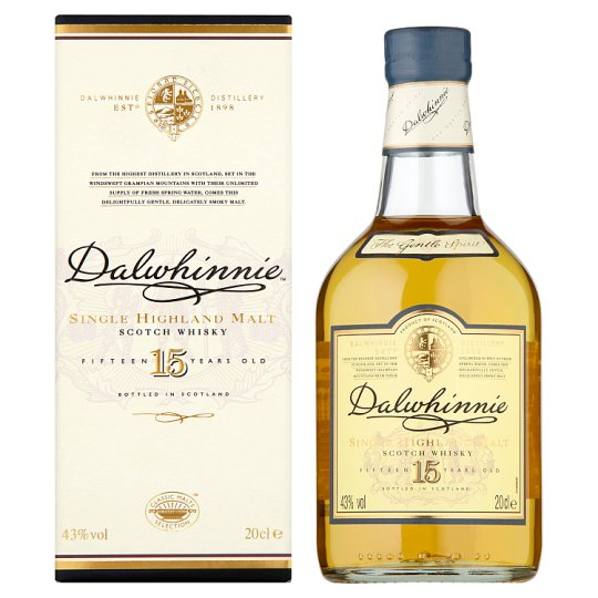 Dalwhinnie 15 Year Old Malt Whisky 20Cl